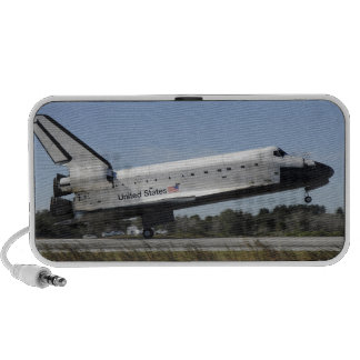 Space shuttle Atlantis touches down Speakers