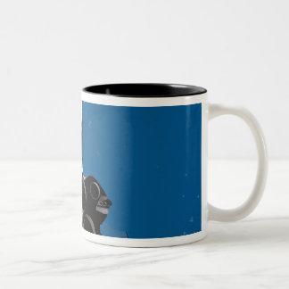 Space Shuttle Atlantis Two-Tone Coffee Mug