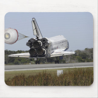 Space shuttle Atlantis unfurls its drag chute 2 Mousepad