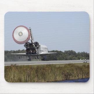 Space shuttle Atlantis unfurls its drag chute 3 Mousepads