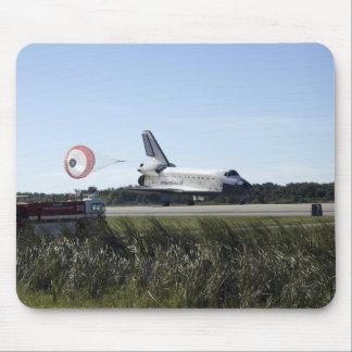 Space shuttle Atlantis unfurls its drag chute Mouse Pad