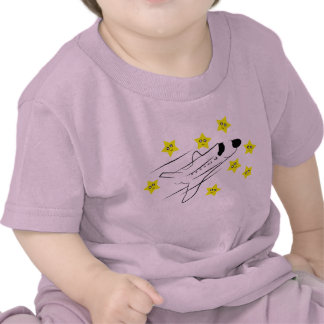 Space Shuttle Baby Pink T-Shirt