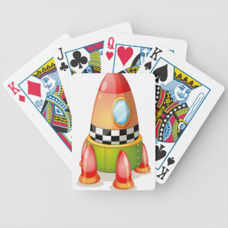 space shuttle bicycle playing cards