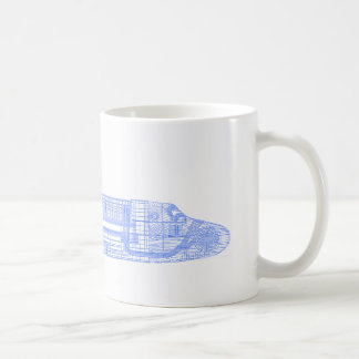 Space Shuttle Blueprints Coffee Mug