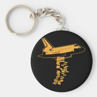 Space Shuttle Bomber Keychain