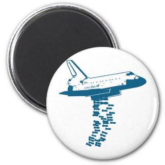Space Shuttle Bomber Magnet