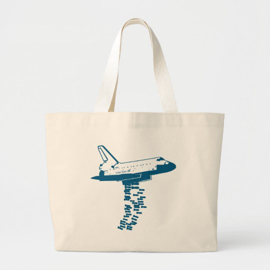 Space Shuttle Bomber Tote Bag