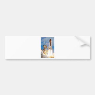Space shuttle bumper sticker