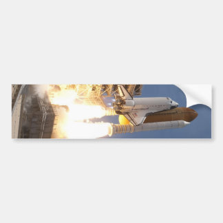 Space Shuttle Bumper Sticker