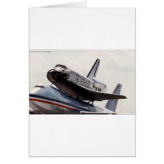 space shuttle card