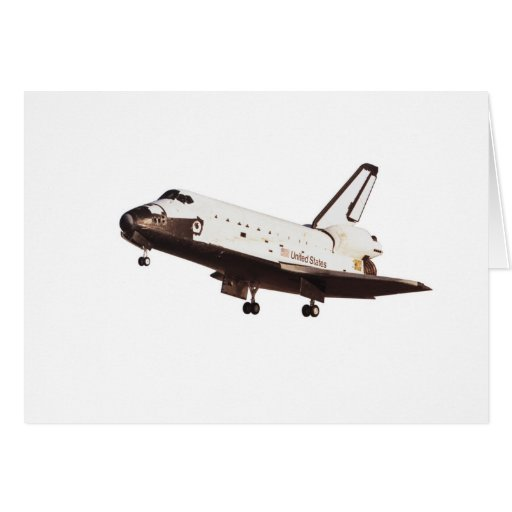 Space Shuttle Challenger Greeting Card