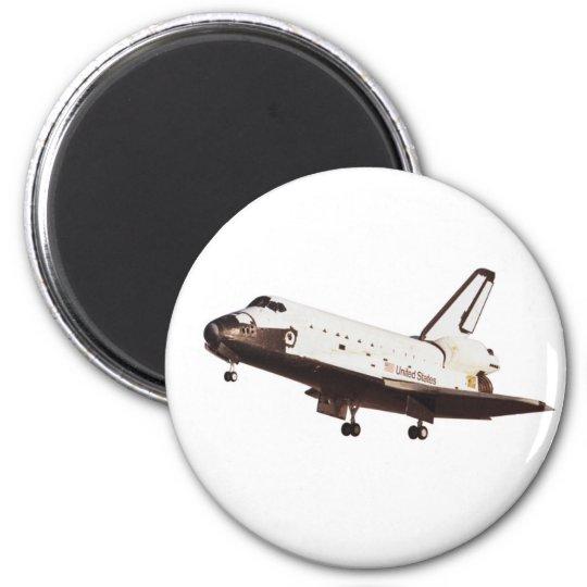 Space Shuttle Challenger Magnet