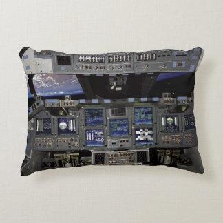 Space Shuttle Cockpit Accent Pillow