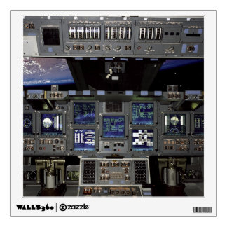 Space Shuttle Cockpit Wall Graphics