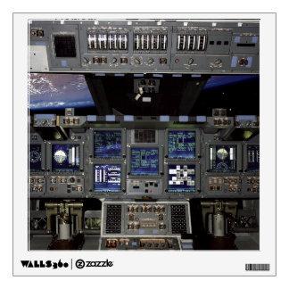 Space Shuttle Cockpit Wall Skin