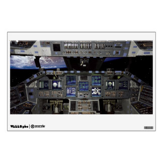 Space Shuttle Cockpit Wall Decal