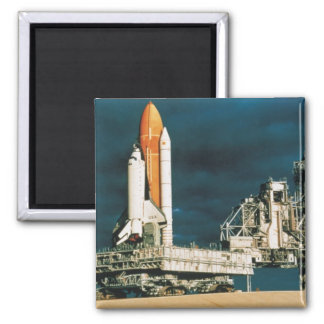 Space Shuttle Columbia 2 Inch Square Magnet