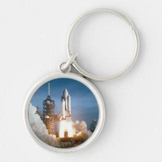 Space Shuttle Columbia Blasts Off Keychain