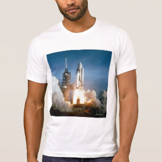 Space Shuttle Columbia Blasts Off T-shirt