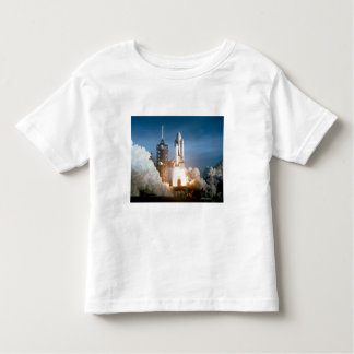 Space Shuttle Columbia Blasts Off Toddler T-shirt