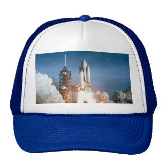 Space Shuttle Columbia Blasts Off Trucker Hat