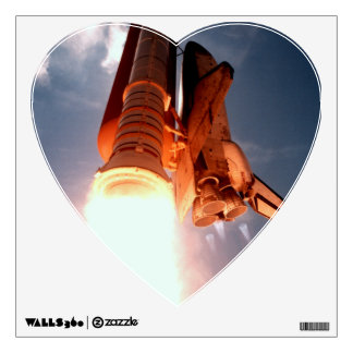 Space Shuttle Columbia Blasts Off Wall Graphics