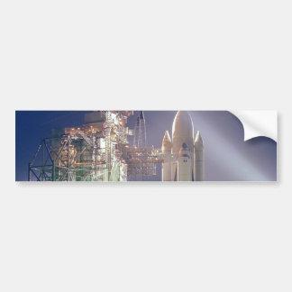 Space Shuttle Columbia Car Bumper Sticker