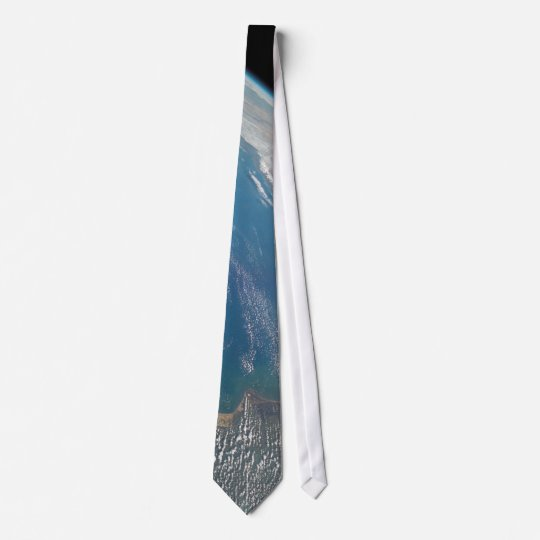 Space Shuttle Columbia Earth Shot Tie