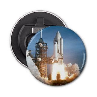 Space Shuttle Columbia launching Bottle Opener