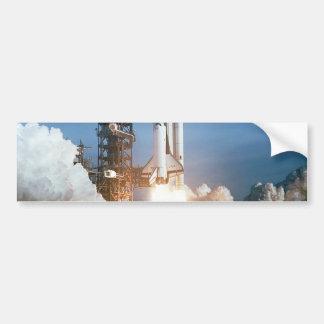 Space Shuttle Columbia launching Bumper Sticker
