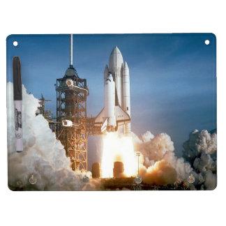 Space Shuttle Columbia launching Dry Erase Board