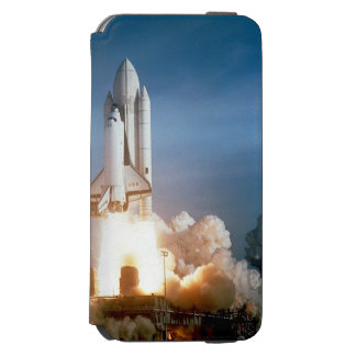 Space Shuttle Columbia launching iPhone 6/6s Wallet Case