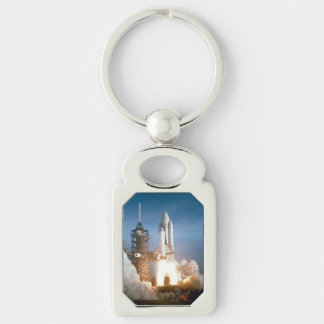 Space Shuttle Columbia launching Keychain
