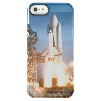 Space Shuttle Columbia launching Permafrost® iPhone SE/5/5s Case