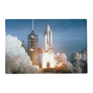 Space Shuttle Columbia launching Placemat