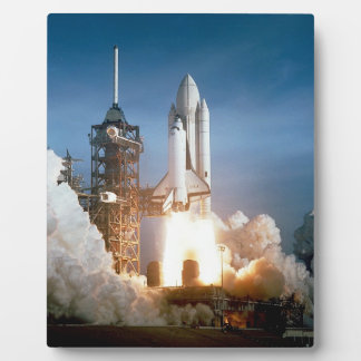 Space Shuttle Columbia Launching Plaque