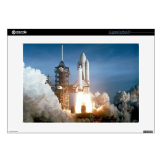 "Space Shuttle Columbia launching Skin For 15"" Laptop"