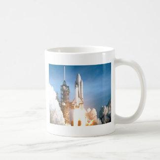 Space Shuttle Columbia launching to success goal Coffee Mug