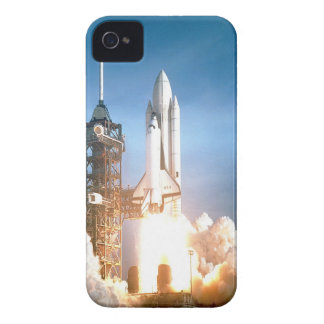 Space Shuttle Columbia launching to success goal iPhone 4 Case