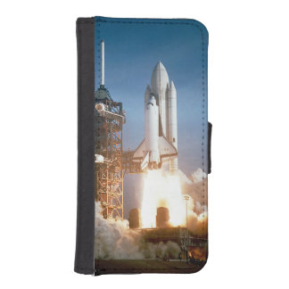 Space Shuttle Columbia launching Wallet Phone Case For iPhone SE/5/5s