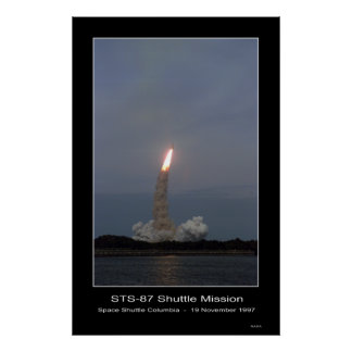 Space Shuttle Columbia Lift-off – ... Poster