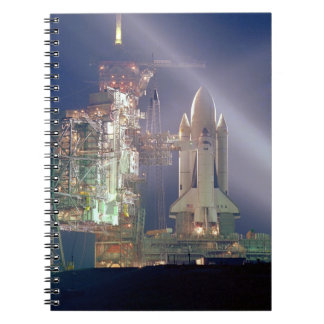 Space Shuttle Columbia Notebook