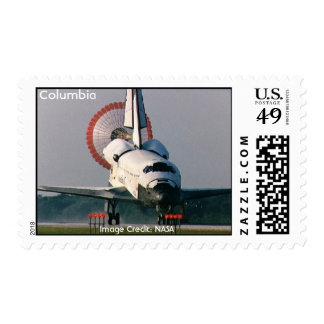Space Shuttle Columbia Postage