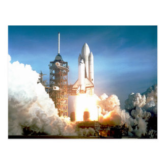 Space Shuttle Columbia Postcard