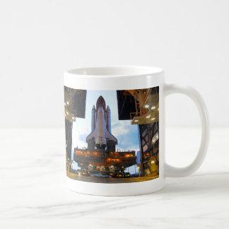 Space Shuttle Columbia Preps Coffee Mug