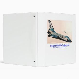 Space Shuttle Columbia Returns Binder