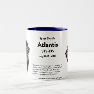 Space Shuttle Commemorative Mug
