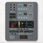 Space Shuttle Control Board Mouse Pad