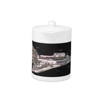Space Shuttle Cutaway Teapot