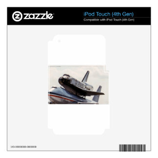 space shuttle decal for iPod touch 4G
